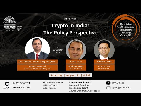 Crypto in India: The Policy Perspective