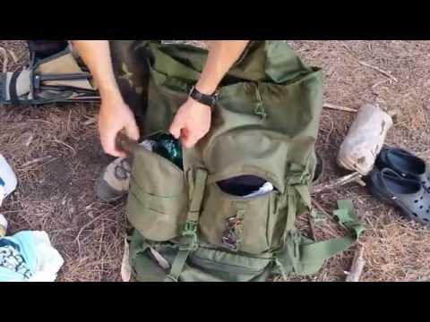 Mochila HIGHLANDER PRO-FORCES 66 Lt