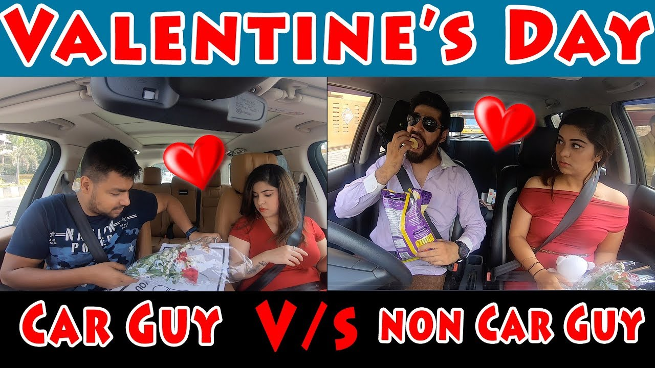 Motoroctane Youtube Video - Valentine's Day Date - Car vs Non-Car Guy - MotorOctane