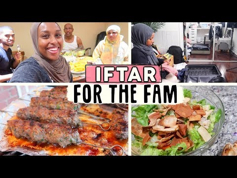 COOKED IFTAR FOR MY FAMILY FOR THE LAST TIME, PACKING + RAPTORS GAME! | #TheRamadanDaily
