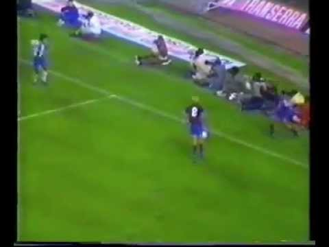 Barcelona 2 - Oporto 0 (Copa de Europa 1985-86)