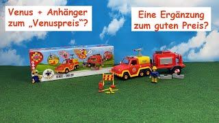 Feuerwehrmann Sam - Venus und Anhänger - Simba 109251086 – Review
