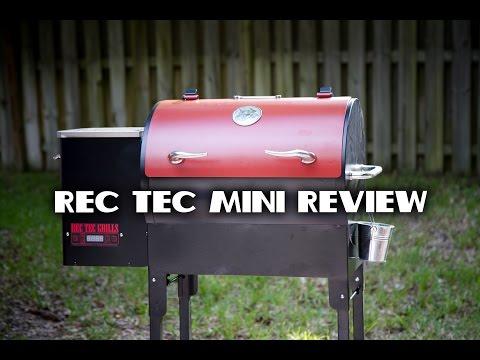REC TEC Mini Pellet Grill Review