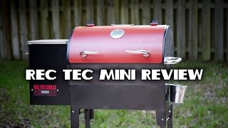 REC TEC Mini Pellet Grill Review
