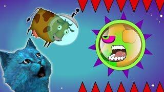 ХИЩНЫЙ СЛИЗЕНЬ #5 СЪЕДАЕТ КОСМОС игра про голодную слизь КОТЁНОК ЛАЙК Mutant Blobs Attack