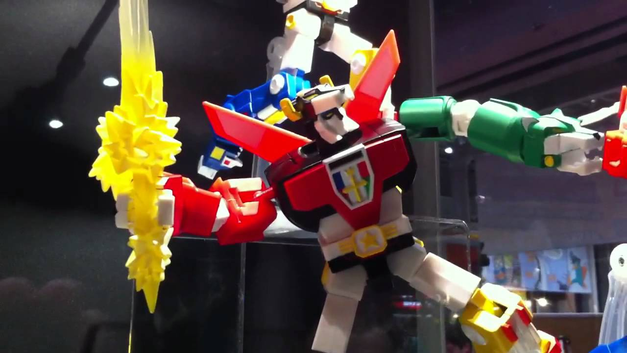 New York Comic-Con's Many Colourful Voltron Toys