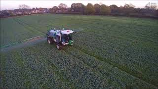 R & g newby with Self-propelled sprayer at Plainville Lane