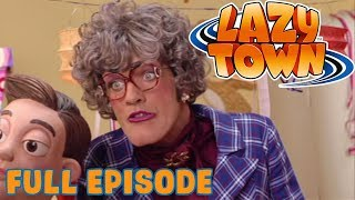 Lazy Town | Miss Roberta | Full Episode