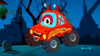 Little Red Car| Trick Or Treat