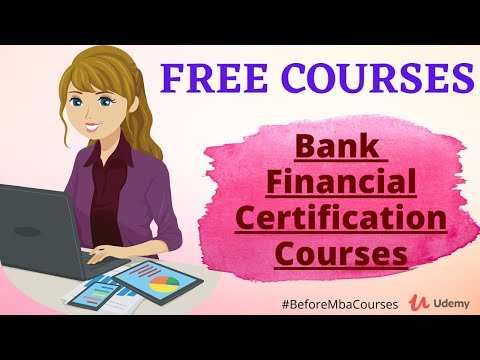 Top 11 Bank & Financial FREE Certification Courses ... - YouTube