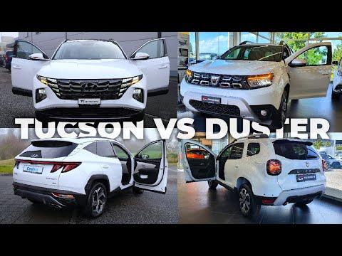 New Dacia Duster VS Hyundai Tucson 2022