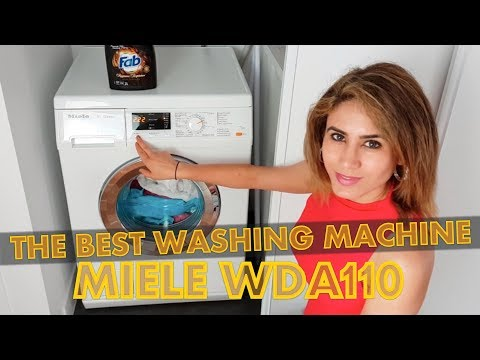 Miele W Classic WDA110 Review | The Best Washing Machine?