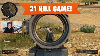 21 KILL GAME w/ SDM! | Black Ops 4 Blackout | PS4 Pro