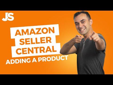 Amazon Seller Central Tutorial   Create an Amazon Listing - YouTube