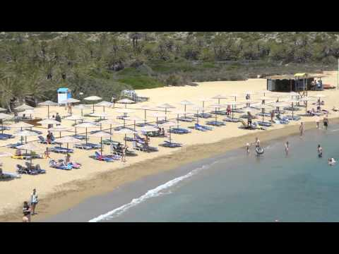 The Palm Beach of Vai (Βάι) - Crete - Greece