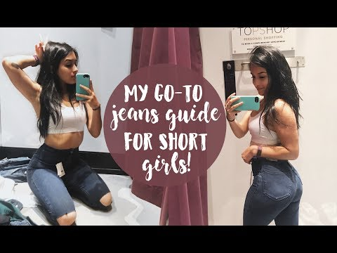 MY GO-TO JEANS GUIDE FOR BIG HIPS & SHORT GIRLS