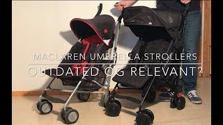 Maclaren Strollers: an Impartial Review
