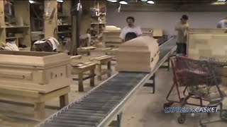 How Our American Made Wood and Metal Caskets are Manufactured.   EXPRESS .CASKET  EXPRESS .CASKET