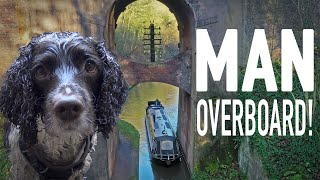Man Overboard! Dog Rescue on the Freezing Shropshire Union Canal!