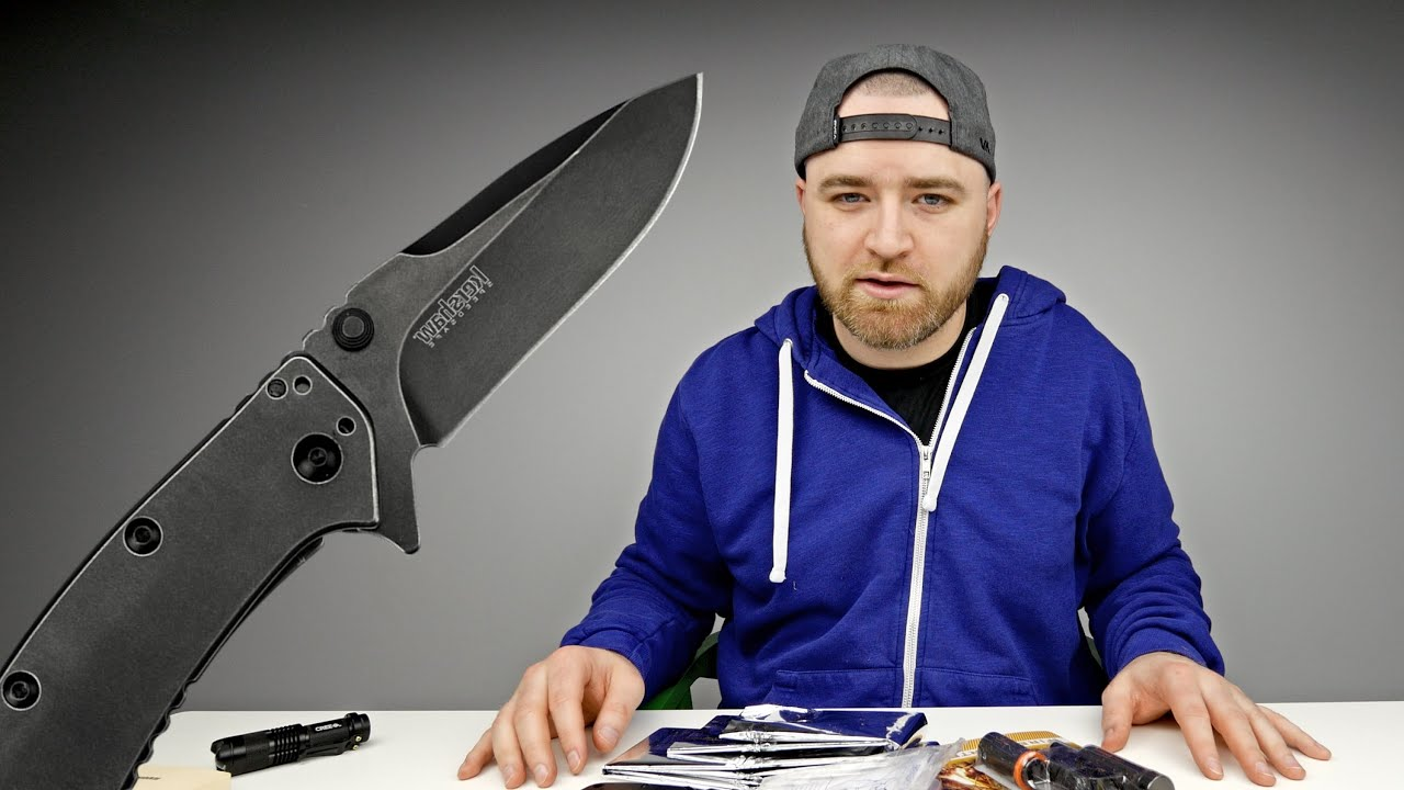 Unboxing Cool Survival Gear thumbnail
