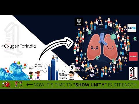 CRED, Paytm, Zomato initiatives shortage of oxygen | Donate Oxygen | Oxygen for India