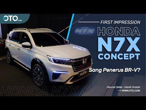 Honda N7X Concept | Debut Global, Inikah Konsep Pengganti BR-V?