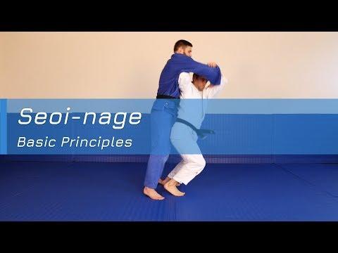 Seoi-nage - Basic principles