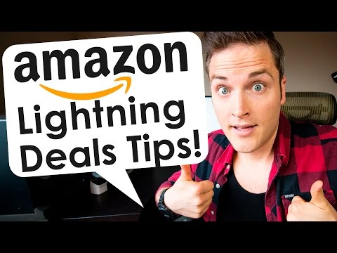 Amazon Lightning Deals Tips for Black Friday and Cyber Monday