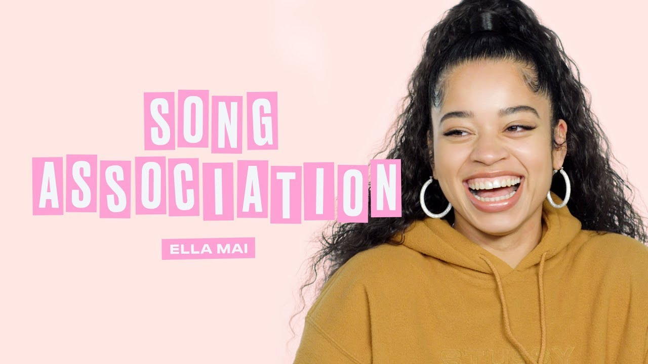 Ella Mai Plays Song Association | ELLE Magazine