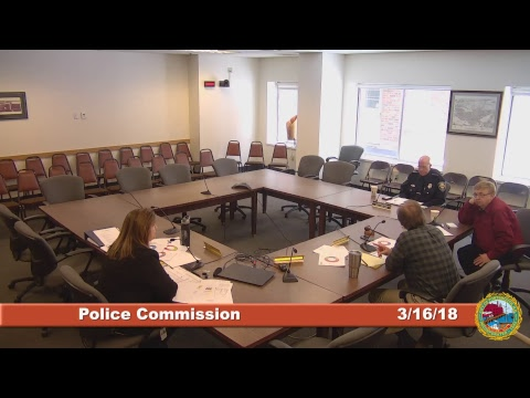 Police Commission 3.16.2018