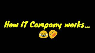 How IT Company's work | Video conference call | Payasam Sapundunga Friend | #ITAtrocities #WFH