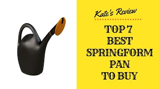 Best Springform Pan To Buy