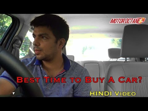 Motoroctane Youtube Video - Best Time to Buy a Car? December or January Car Discounts Good or Bad? in Hindi