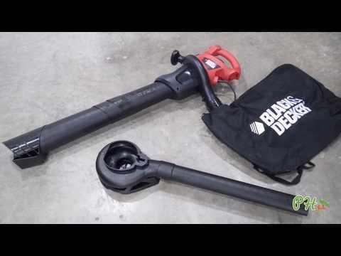 Aspirador-Soplador-Triturador 2200W Black&Decker - Planeta Huerto