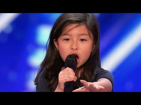 Trending Now: 9 Year Old Celine Tam STUNS THE CROWD In America's Got Talent 2017