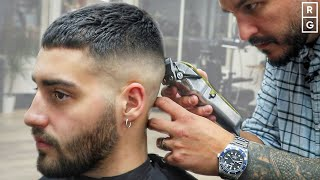 Short Crop Haircut | Simple Short Fade Haircut For Men