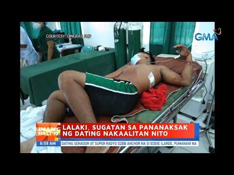 [GMA]  UB: Lalaki, sugatan sa pananaksak ng dating nakaalitan nito