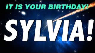 HAPPY BIRTHDAY SYLVIA! This is your gift.