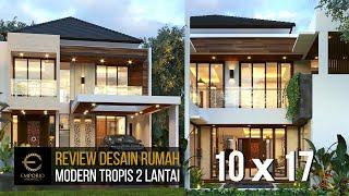 Video Desain Rumah Modern 2 Lantai Ibu Putu di  Bekasi, Jawa Barat