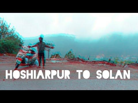Hoshiarpur to solan || Tvs jupiter || Indian Hell Rider || Official Kelvin