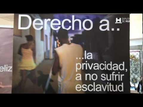 Diputación acoge una exposición fotográfica contra la trata de personas y el turismo sexual