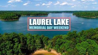 Laurel Lake Memorial Day Weekend, Kentucky Drone Video