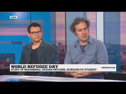 World Refugee Day: The story of a French mother who took in an Afghan refugee