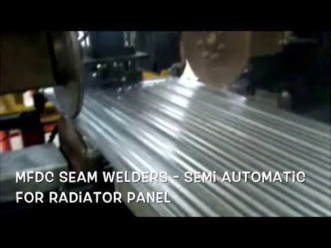 Dual Seam Welding Machines for Transformer Radiator Welding