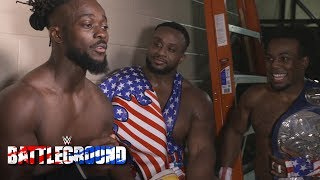 The New Day reflect on a special first for Xavier Woods after winning: July 23, 2017