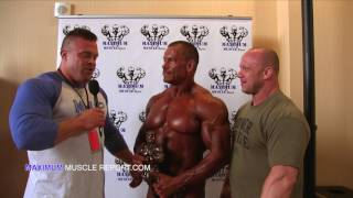 2017 Masters Nationals | Mens Bodybuilding 50+ Heavyweight Champion Jeff Williamson