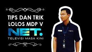 TIPS DAN TRIK LOLOS MDP V  NET TV