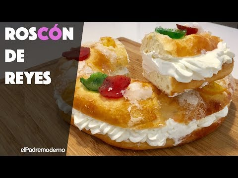 Roscón de Reyes Casero Y Fácil | Receta Tradicional de Rosca de Reyes