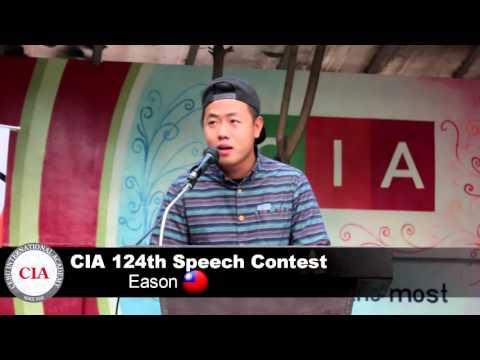 (English School in Cebu, Philippines ) Cebu International Academy- 124th Speech Contest (Eason)