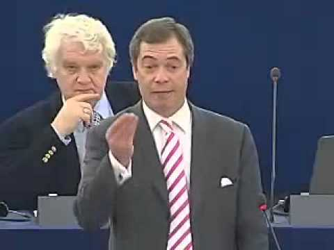 Nigel tells Merkel some home truths - Exposin the E.U dictatorship